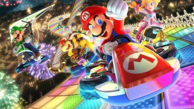 Mario Kart 8 Deluxe key art