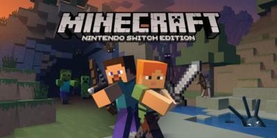 Minecraft: Nintendo Switch Edition key art