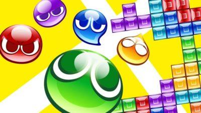 Puyo Puyo Tetris key art