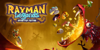 Rayman Legends: Definitive Edition key art