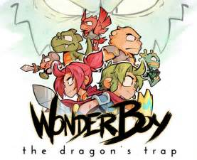 Wonder Boy: The Dragon's Trap key art