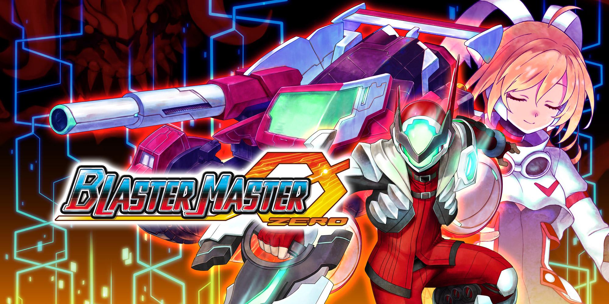 Blaster Master Zero key art