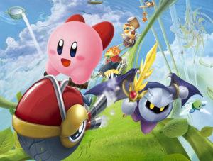 Kirby Air Ride art