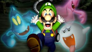 Luigi's Mansion art