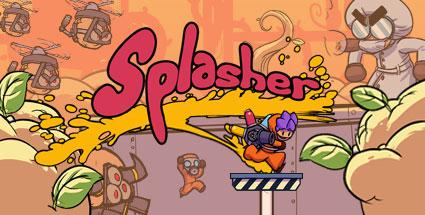 Splasher key art