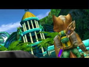 Star Fox: Adventures screenshot