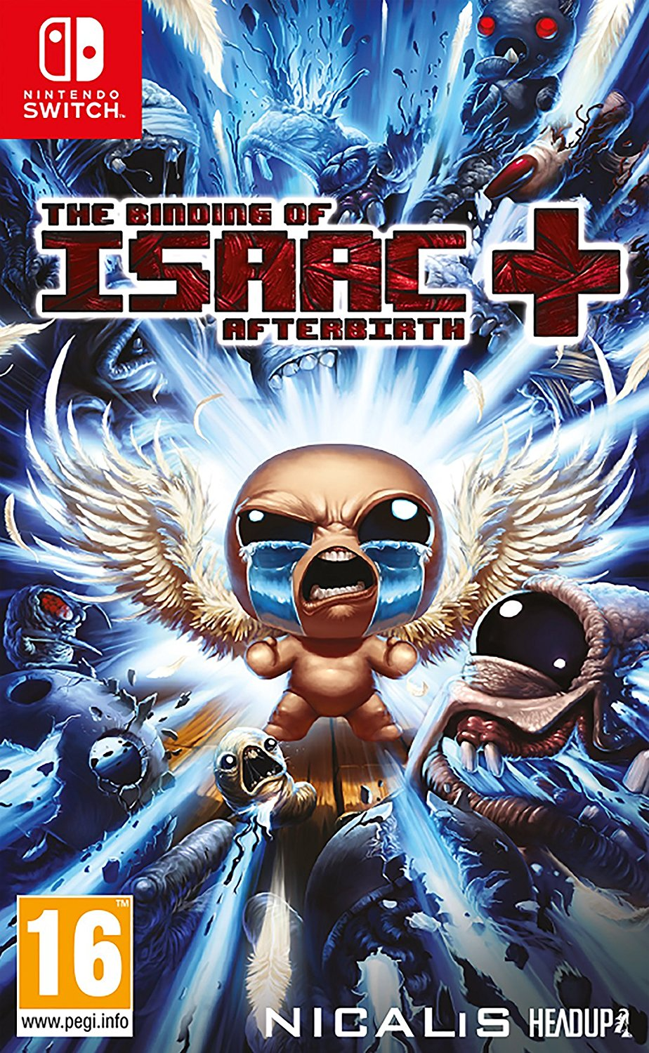 The Binding of Isaac: Afterbirth+ box art